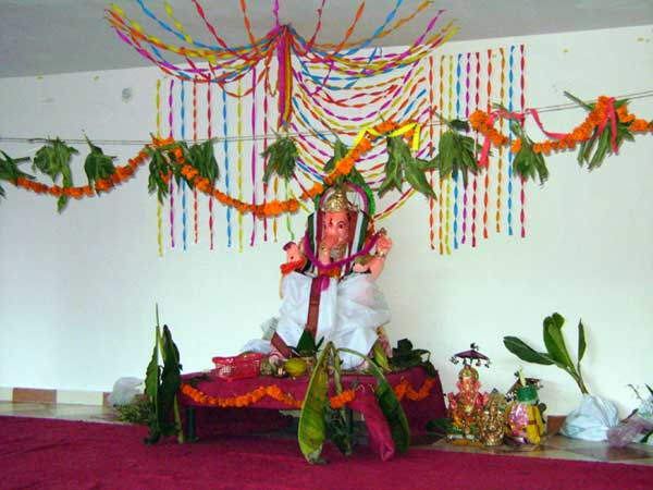 This Is The Ganesh Idol That Currently In Our Clubhouse