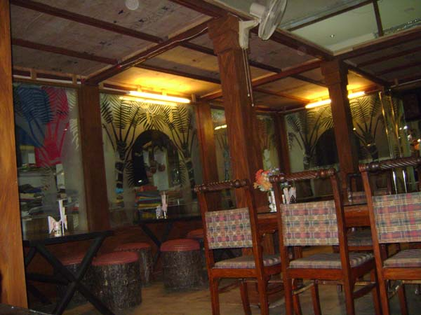 This is his photo of a restaurant we stopped in on the way to Agra